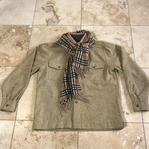 Burberry Wool Shirt Jacket